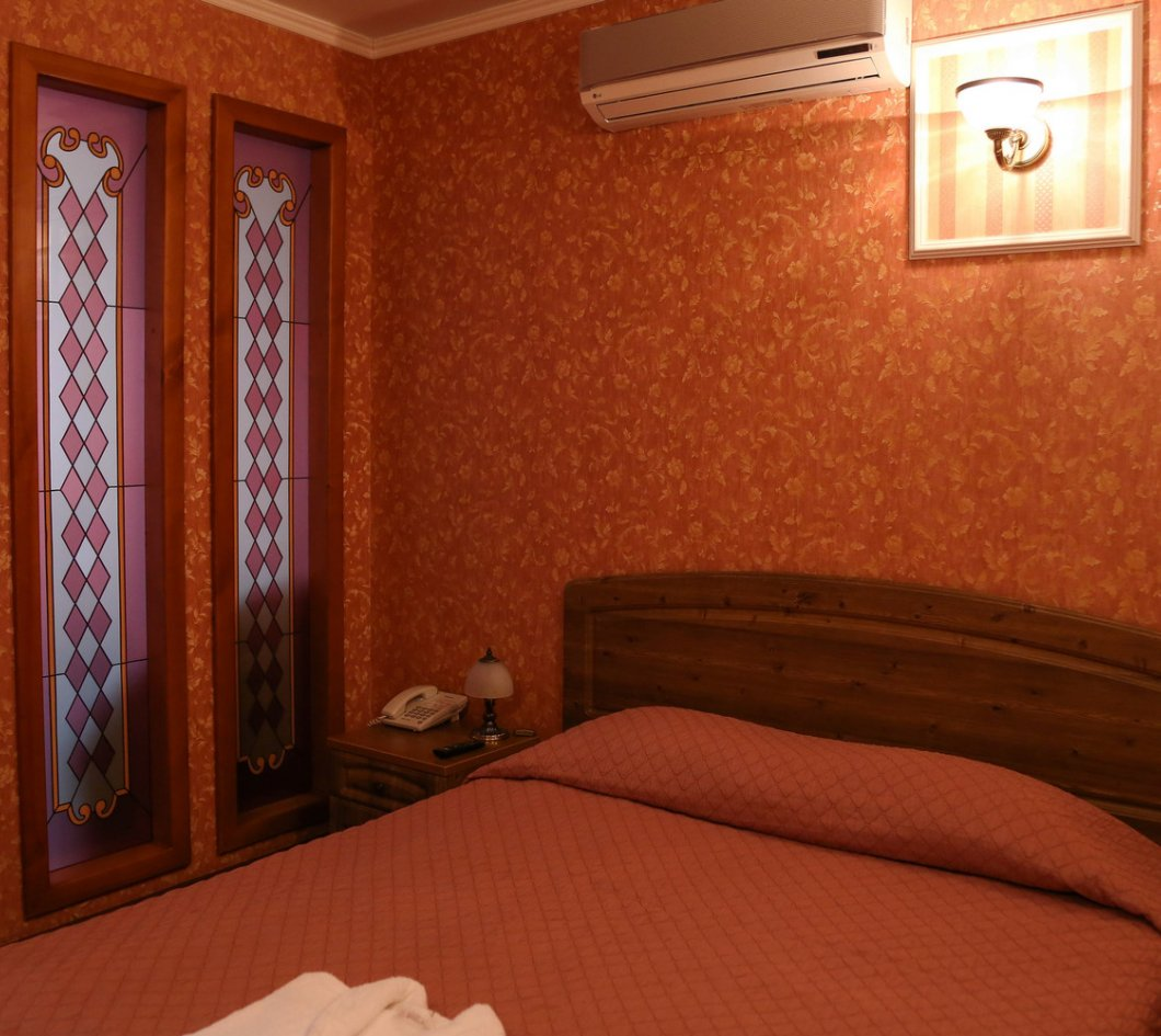 Номер Бизнес улучшенный (спальня) - Гостиница Лермонтов отель