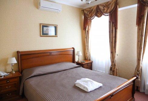 Номер Премиум (кровать)- Гостиница Лермонтов отель